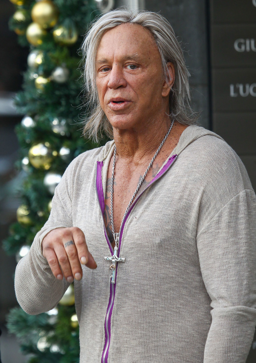 Mickey Rourke /BG020/Bauer-Griffin/GC Images /Getty Images