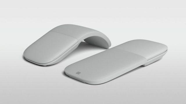 Microsoft Arc Mouse i Surface Arc Mouse /materiały prasowe