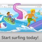 Microsoft Edge z wbudowaną grą