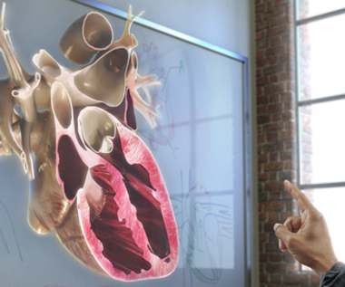 Microsoft HoloLens - medycyna z hologramem w tle