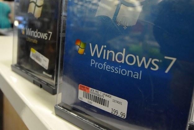 Microsoft kończy dystrybucję Windowsa 7? Wersja Professional zostanie na rynku /AFP