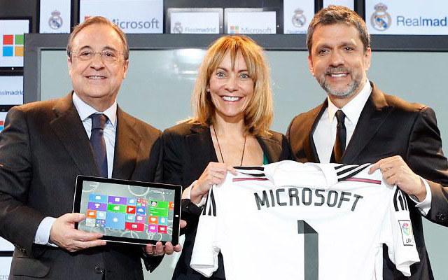 Microsoft od teraz w drużynie Realu Madryt /materiały prasowe