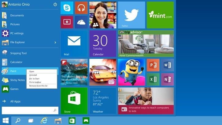 Microsoft pokłada wielkie nadzieje w Windows 10 /materiały prasowe