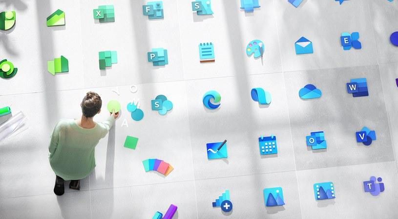 Microsoft przeprojektowuje ikony dla Windows 10 /materiały prasowe