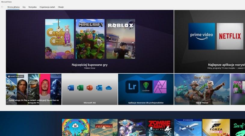 Microsoft Store /INTERIA.PL