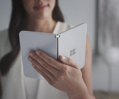 Microsoft Surface Duo na teaserze
