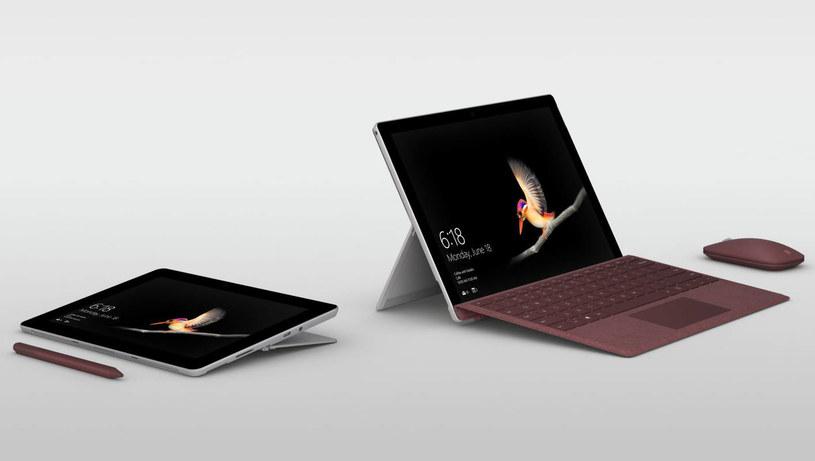 Microsoft Surface Go /materiały prasowe