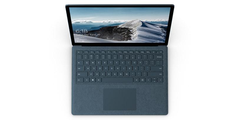 Microsoft Surface Laptop /materiały prasowe