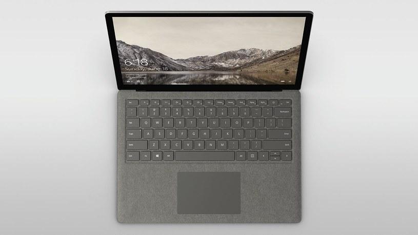 Microsoft Surface Laptop /materiały promocyjne