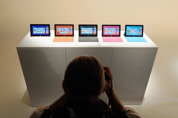 Microsoft Surface odmieni segment tabletów? /AFP