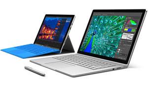 Microsoft Surface Pro 4 i Surface Book - tablety lepsze od wielu laptopów
