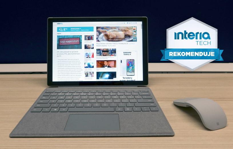 Microsoft Surface Pro 7 otrzymuje REKOMENDACJĘ serwisu Interia Tech /INTERIA.PL