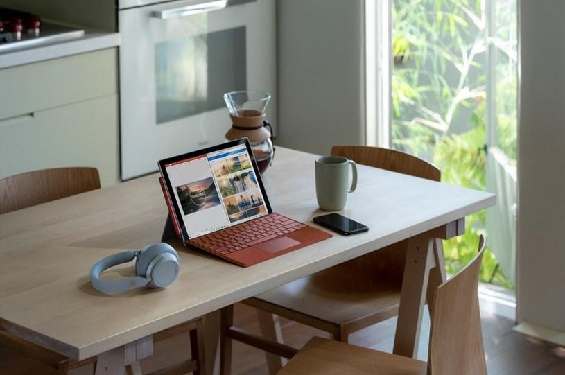 Microsoft Surface Pro 7 to wielozadaniowy sprzęt dla profesjonalistów /materiały promocyjne