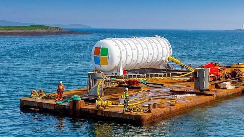 Microsoft tworzy największą na świecie podwodną chmurę danych. Oto projekt Natick /Geekweek