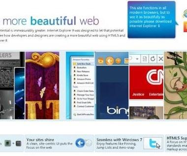 Microsoft udostępnił  Internet Explorer 9 beta