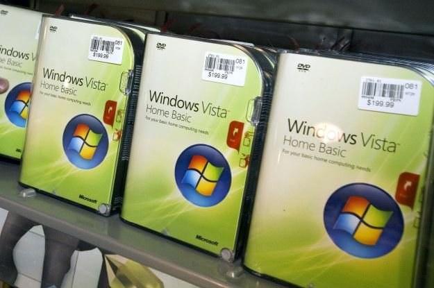 Microsoft zaleca zainstalowanie Service Packa 2 dla Visty lub nabycie aktualizacji do Windows 7 /AFP