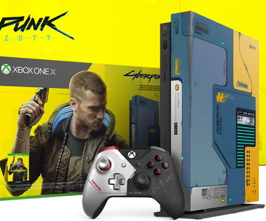 Microsoft zapowiedział specjalne cyberpunkowe wydanie Xboxa One X