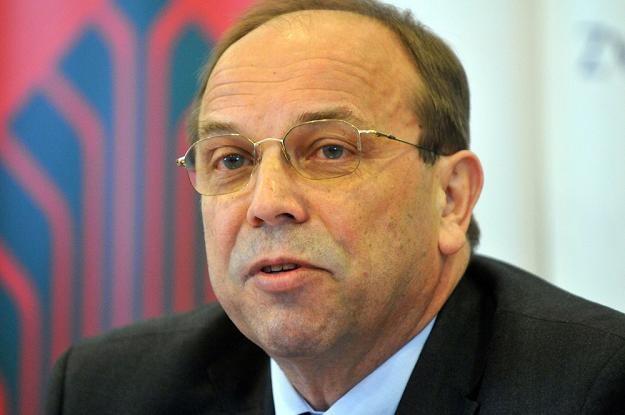 Mieczyslaw Groszek, wiceprezes Związku Banków Polskich. Fot Lech Gawuc /Reporter