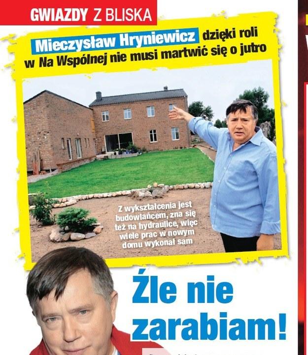 Mieczysław Hryniewicz pokazuje swój dom /Twoje Imperium