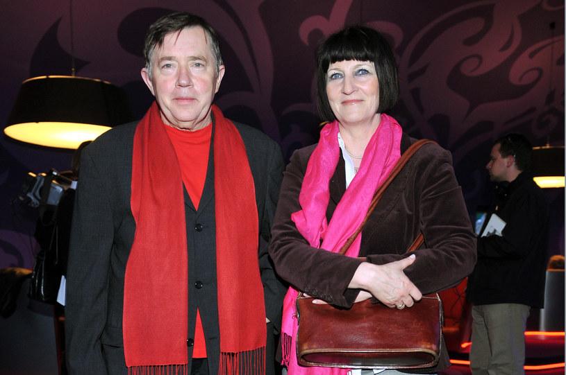 Mieczysław Hryniewicz z żoną, 2008 rok /Kurnikowski /AKPA