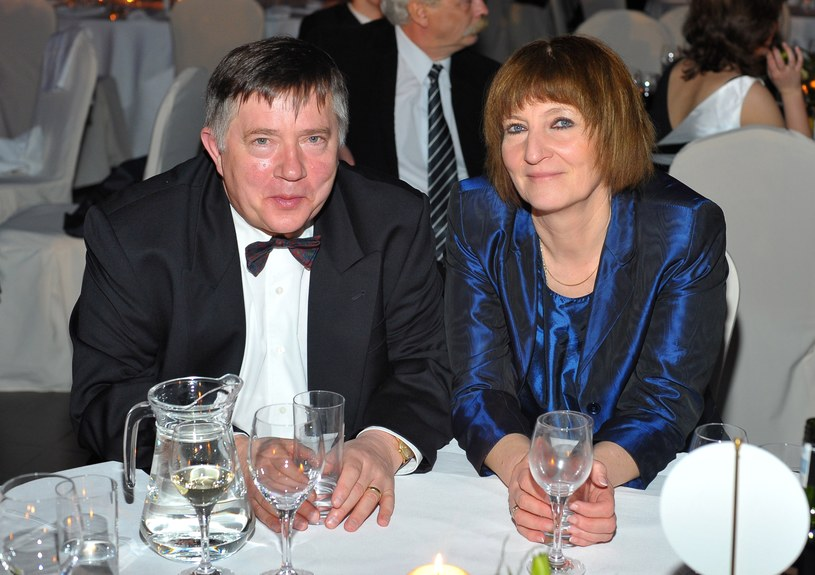 Mieczysław Hryniewicz z żoną /Radosław Nawrocki /Agencja FORUM
