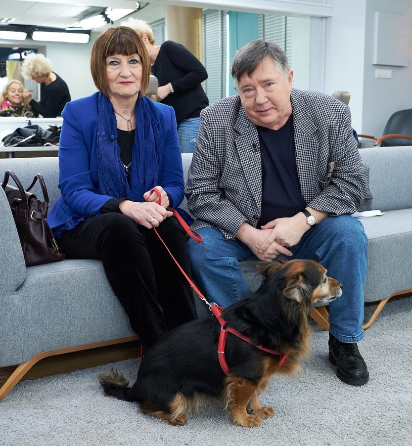 Mieczysław Hryniewicz z żoną /Bartosz Krupa /East News