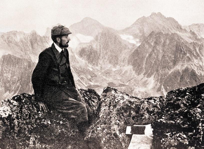 Mieczysław Karłowicz w Tatrach, 1907 r. /Agencja FORUM