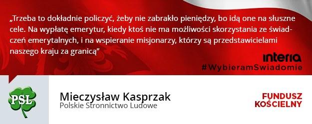 Mieczysław Kasprzak /INTERIA.PL