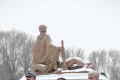 Miedwiediew oddał hołd radzieckim żołnierzom