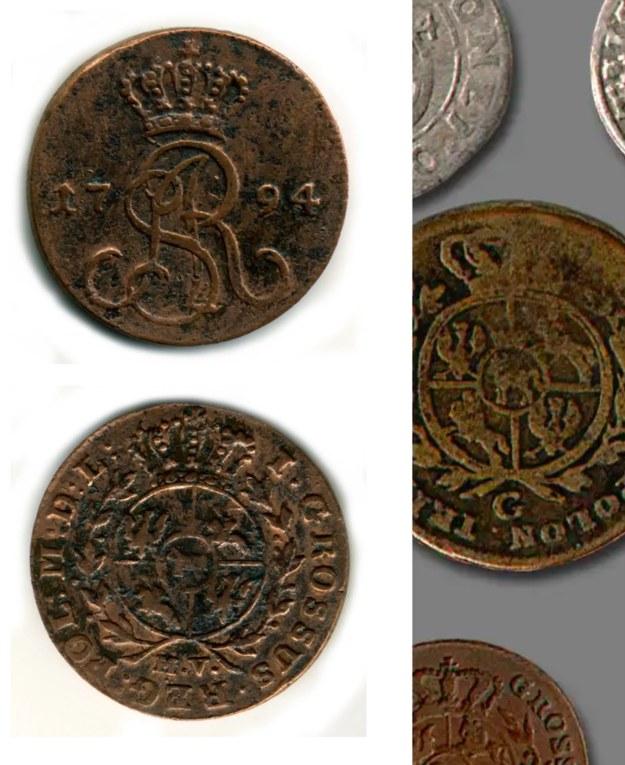 Miedziane monety pochodzą z końca XVIII wieku /RMF FM