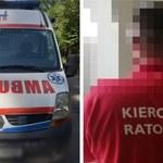"""Międzybórz: Pijany """"ratownik medyczny"""" jeździł po mieście karetką"""