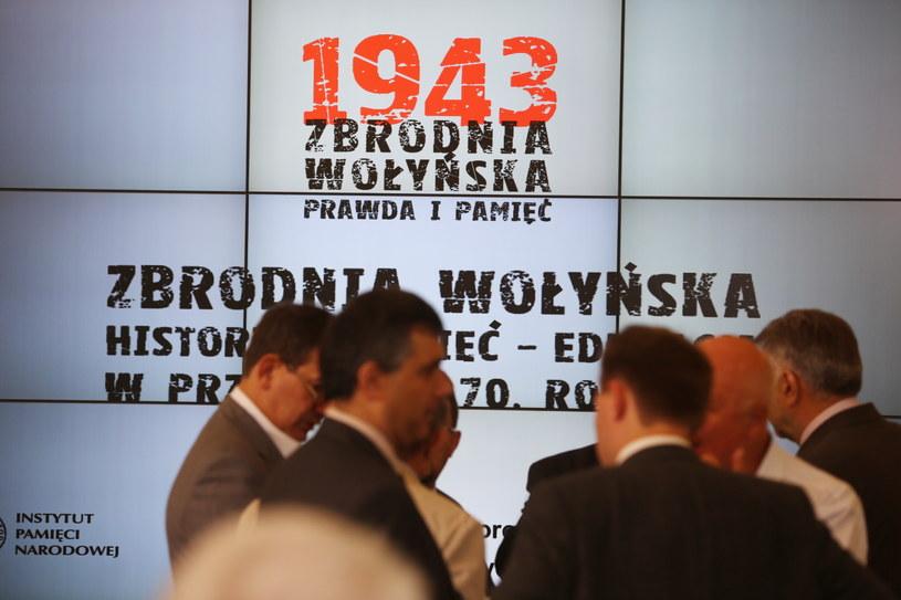 """Międzynarodowa konferencja naukowa """"Zbrodnia Wołyńska. Historia - Pamięć - Edukacja /Tomasz Gzell /PAP"""