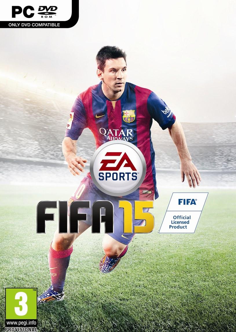 Międzynarodowa okładka FIFA 15 /materiały prasowe