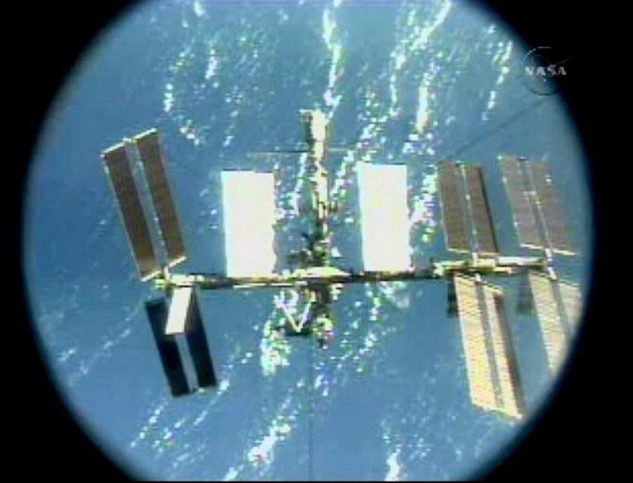 Międzynarodowa Stacja Kosmiczna / NASA TV/ HANDOUT    /PAP/EPA