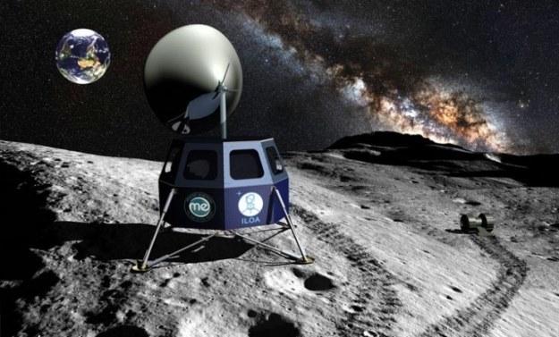 Międzynarodowe Obserwatorium Księżycowe (ILO).   Fot. Moon Express, Inc. /materiały prasowe