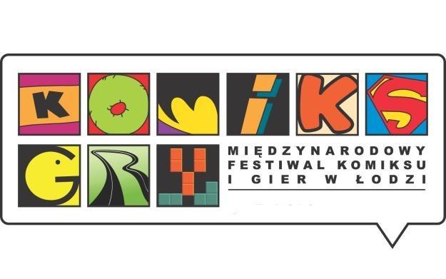 Międzynarodowy Festiwal Komiksu i Gier - logo /Informacja prasowa