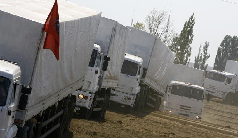 Międzynarodowy Komitet Czerwonego Krzyża powiadomił o nawiązaniu kontaktu z konwojem w obwodzie rostowskim. /AFP