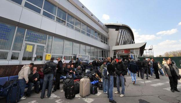 Międzynarodowy Port Lotniczy Boryspol jest największym lotniskiem na Ukrainie. /AFP