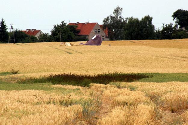 Miejsca ze zdjęcia katastrofy /Piotr Bułakowski /Piotr Bułakowski, RMF FM