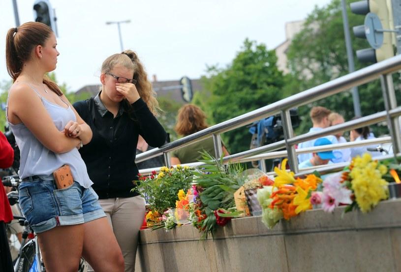 Miejsce ataku w Niemczech /PAP/EPA