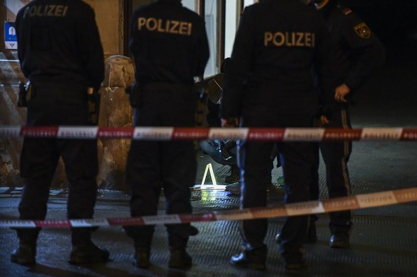 Miejsce ataku w Wiedniu /CHRISTIAN BRUNA /PAP/EPA