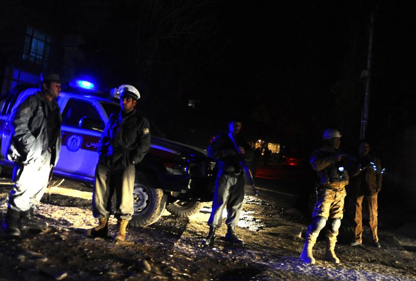 Miejsce ataku /Aref KARIMI /AFP