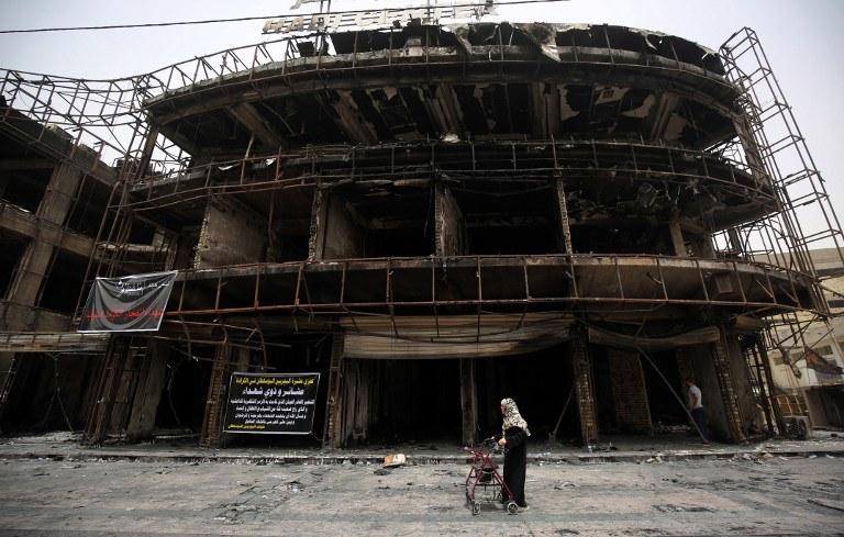Miejsce ataku /AFP