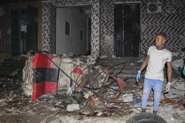 Miejsce ataku /SAID YUSUF WARSAME /PAP/EPA