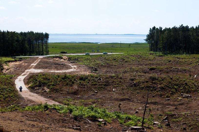 Miejsce budowy przekopu /fot. Andrzej Iwanczuk /Reporter