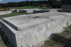 Miejsce ekshumacji Zbigniewa Wassermanna - cmentarz na krakowskich Bielanach