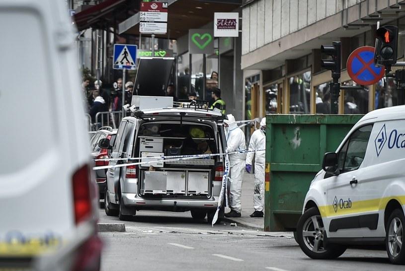 Miejsce, gdzie doszło do ataku /NOELLA JOHANSSON  /PAP