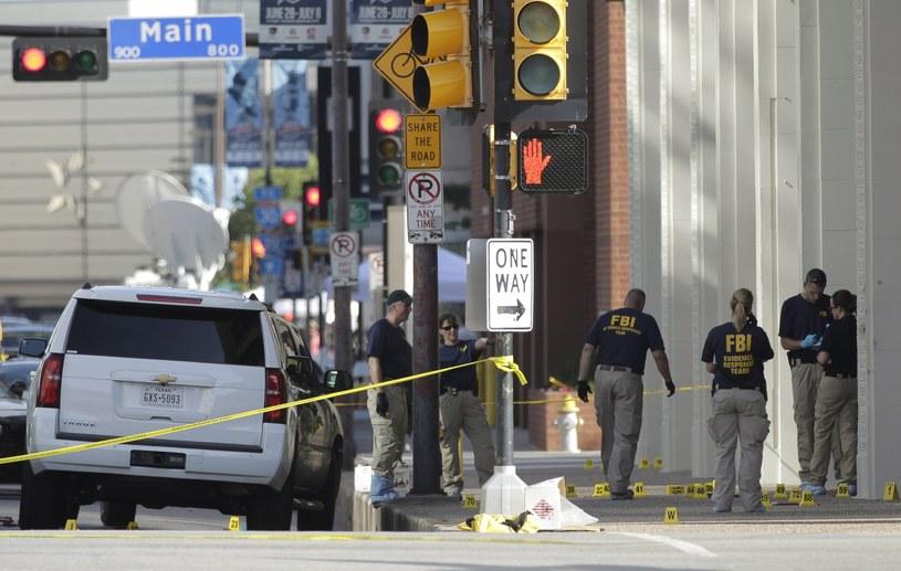 Miejsce, gdzie doszło do strzelaniny /LAUER CORBIS /PAP/EPA