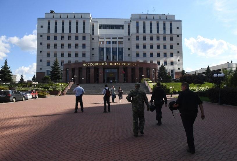 Miejsce, gdzie doszło do strzelaniny /Iliya Pitalev  /East News