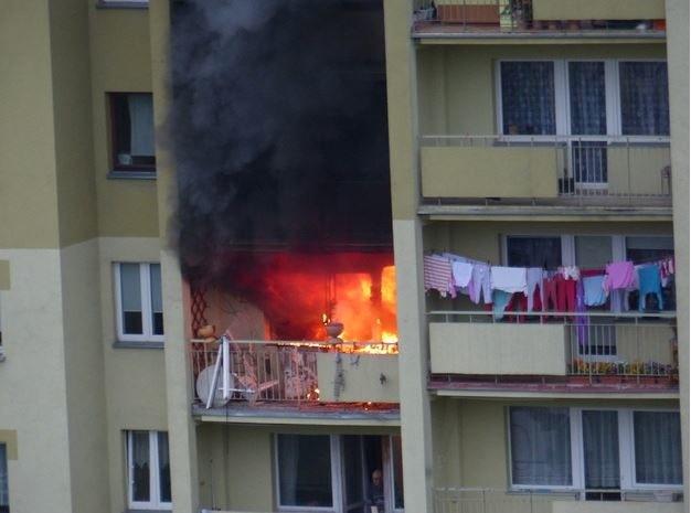 Miejsce, gdzie doszło do wybuchu /Adrian (Gorąca Linia RMF FM) /RMF